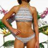 Bikini top atado al cuello
