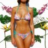 Bikini floreada