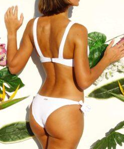 Bikini blanca textura
