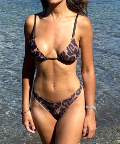 Bikini triangulo animal print