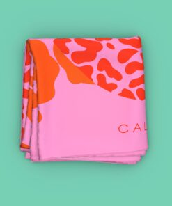 Caly-Scarf Tiger Pink